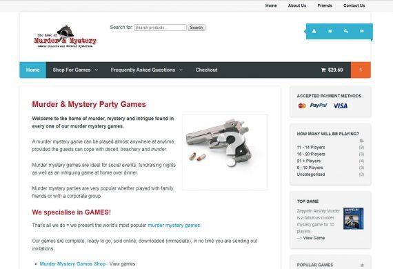 Murder & Mystery Games