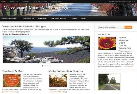 Macedon and Mt Macedon Region